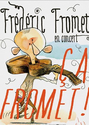 FREDERIC FROMET THEATRE COMEDIE ODEON pièce de théâtre musical