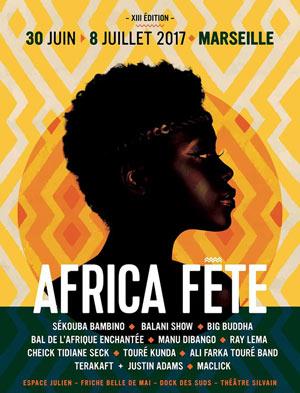 Plus d'infos sur l'évènement FESTIVAL AFRICA FETE 2017 PASS 3 J