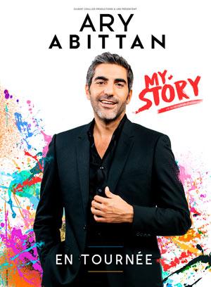 Plus d'infos sur l'évènement ARY ABITTAN - MY STORY