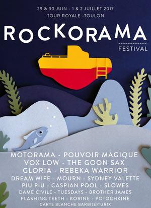 Plus d'infos sur l'évènement FESTIVAL ROCKORAMA 2017 - PASS 2 J