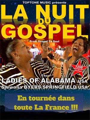 Plus d'infos sur l'évènement LA NUIT DU GOSPEL - LADIES OF