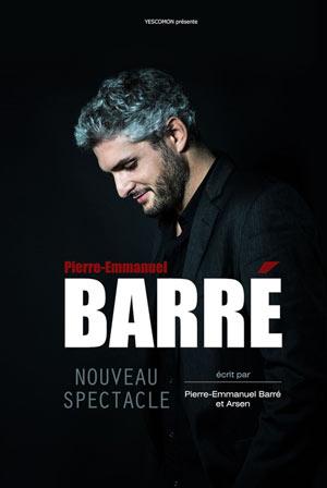 PIERRE EMMANUEL BARRE L'européen one man/woman show