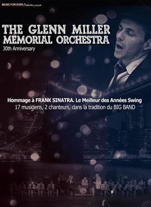 THE GLENN MILLER MEMORIAL ORCHESTRA Théâtre Fémina concert de jazz