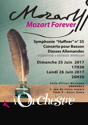 MOZART FOREVER SALLE OLIVIER MESSIAEN concert de musique classique
