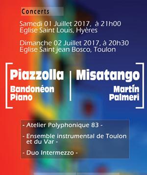 Plus d'infos sur l'évènement PIAZZOLLA - MISATANGO