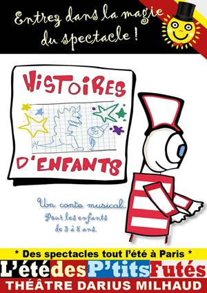 HISTOIRES D'ENFANTS Théâtre Darius Milhaud spectacle pour enfant