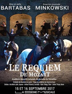 LE REQUIEM DE MOZART La Seine Musicale spectacle équestre
