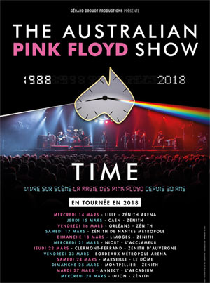 THE AUSTRALIAN PINK FLOYD SHOW Zénith de Limoges concert de rock
