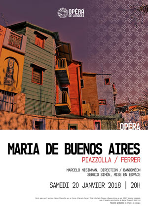 MARIA DE BUENOS AIRES GRAND THEATRE opéra
