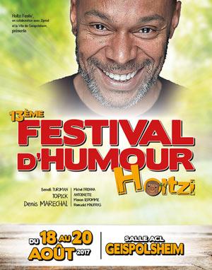 Plus d'infos sur l'évènement 13EME FESTIVAL D'HUMOUR HOLTZI