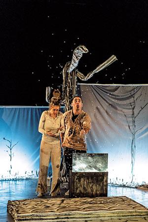 LA PREMIERE NEIGE Théâtre du Grand Rond pièce de théâtre contemporain