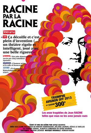 RACINE PAR LA RACINE Théâtre Essaion de Paris pièce de théâtre classique