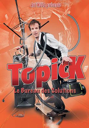 TOPICK LA CIE DU CAFE-THEATRE-GRANDE SALLE one man/woman show