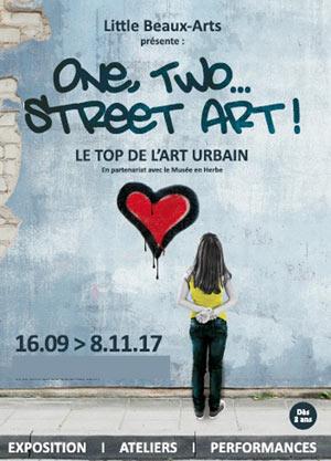ONE,TWO,...STREET ART ! ATELIER 3/5 GALERIE EPHEMERE exposition