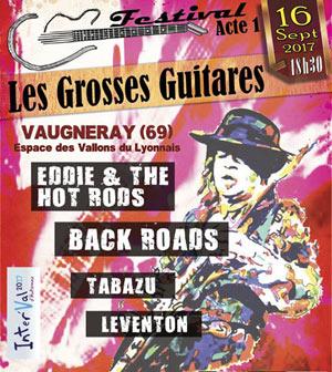 LES GROSSES GUITARES ESPACE DES VALLONS DU LYONNAIS concert de rock