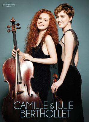 CAMILLE ET JULIE BERTHOLLET PALAIS DES CONGRES concert de musique classique