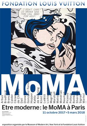 ETRE MODERNE. LE MOMA A PARIS Fondation Louis Vuitton exposition