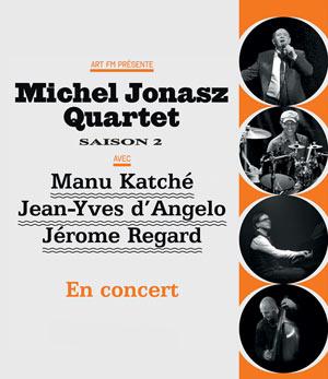 MICHEL JONASZ QUARTET SAISON 2 Le Quattro concert de jazz