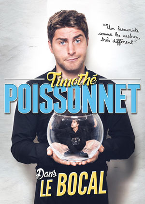 TIMOTHE POISSONNET CAFE THEATRE LE BACCHUS spectacle de café-théâtre