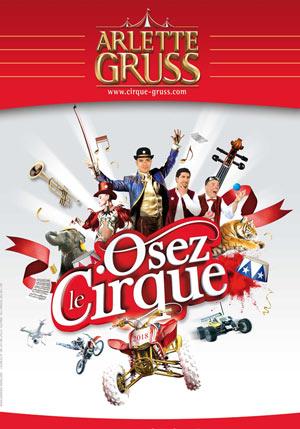 CIRQUE ARLETTE GRUSS CHAPITEAU ARLETTE GRUSS cirque