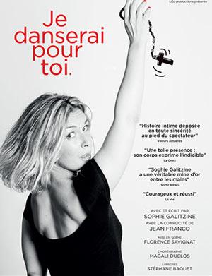 JE DANSERAI POUR TOI Théâtre Essaion de Paris one man/woman show