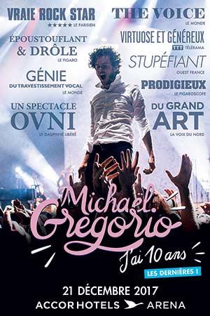 Plus d'infos sur l'évènement MICHAEL GREGORIO