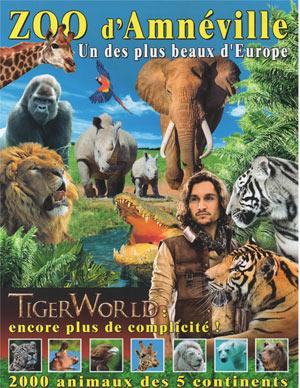 PARC ZOOLOGIQUE D'AMNEVILLE ZOO D'AMNEVILLE visite de parc animalier