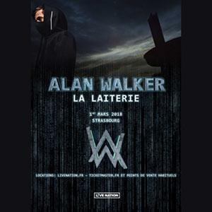 Plus d'infos sur l'évènement ALAN WALKER