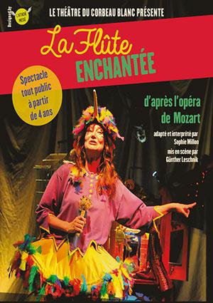 LA FLUTE ENCHANTEE Théâtre Essaion de Paris pièce de théâtre pour enfant