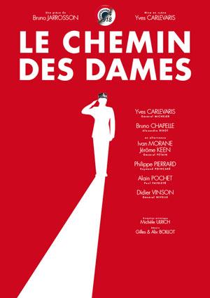 LE CHEMIN DES DAMES Théâtre Essaion de Paris pièce de théâtre contemporain