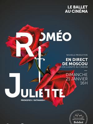ROMÉO ET JULIETTE CINEMA GAUMONT MULTIPLEXE retransmission de ballet, opéra, concert