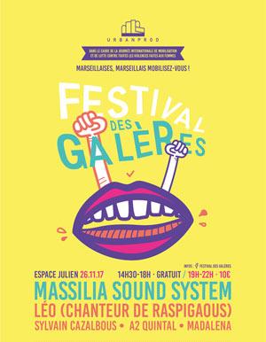 Plus d'infos sur l'évènement FESTIVAL DES GALERES