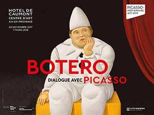 BOTERO DIALOGUE AVEC PICASSO Hôtel de Caumont exposition