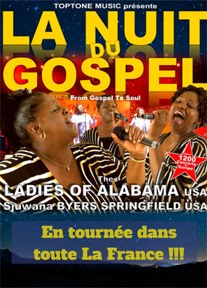 LA NUIT DU GOSPEL - LADIES OF EGLISE ST CANNAT DES PRECHEURS gospel