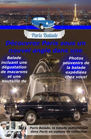 BALADE RIVE GAUCHE VIP PLACE DE L'HOTEL DE VILLE visite guidée