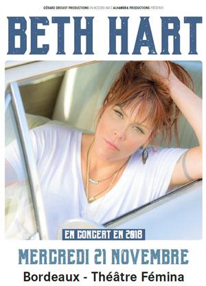 Plus d'infos sur l'évènement BETH HART
