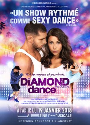 Plus d'infos sur l'évènement DIAMOND DANCE THE MUSICAL