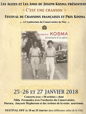 Plus d'infos sur l'évènement FESTIVAL ET PRIX KOSMA