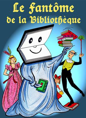 LE FANTOME DE LA BIBLIOTHEQUE Théâtre de La Clarté spectacle pour enfant