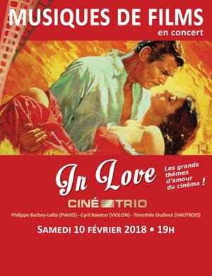 CINE-TRIO - CONCERT #34 TEMPLE PORT ROYAL concert musiques de film