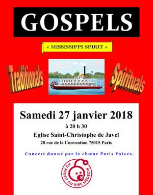 Plus d'infos sur l'évènement GOSPELS MISSISSIPPI SPIRIT