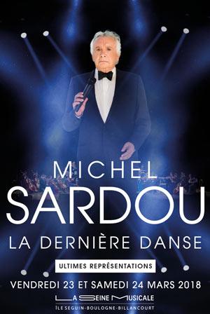 MICHEL SARDOU La Seine Musicale concert de chanson française