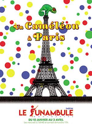 UN CAMELEON A PARIS