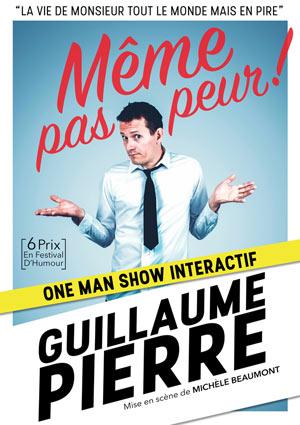 MEME PAS PEUR Le citron bleu one man/woman show