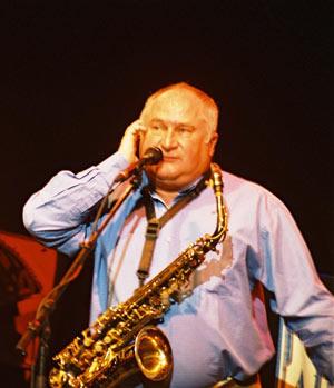 DANIEL HUCK JEAN DIONISI JAZZ BAND L'HELICE concert de jazz