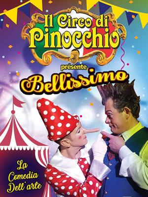 IL CIRCO DI PINOCCHIO CHAPITEAU nouveau cirque