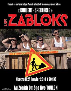 LES ZABLOKS OMEGA LIVE concert de chanson française