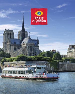 TOUR DE VILLE ET CROISIERE (PC) DEPART AGENCE PARISCITYVISION005664 visite guidée
