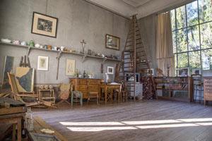 VISITE DE L'ATELIER DE CEZANNE atelier de cézanne visite de musée