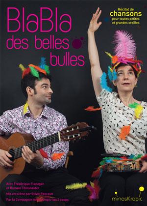 BLABLA DES BELLES BULLES Théâtre Essaion de Paris pièce de théâtre pour enfant